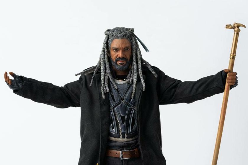 Figurine The Walking Dead King Ezekiel 30cm 1001 Figurines (3)