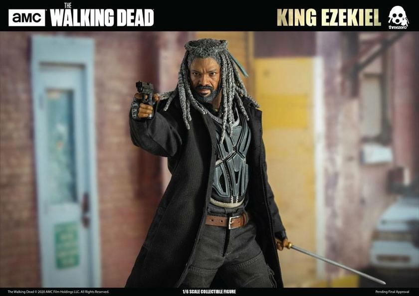 Figurine The Walking Dead King Ezekiel 30cm 1001 Figurines (13)