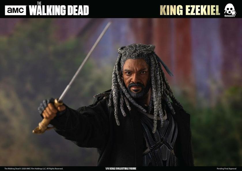 Figurine The Walking Dead King Ezekiel 30cm 1001 Figurines (18)