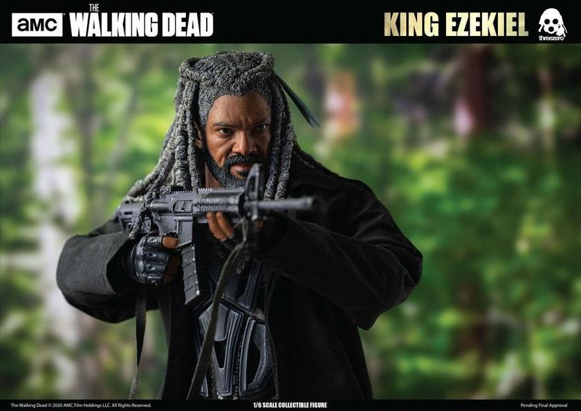 Figurine The Walking Dead King Ezekiel 30cm 1001 Figurines (21)