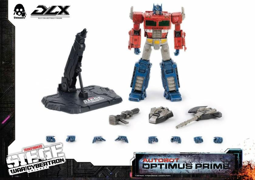 Figurine Transformers War For Cybertron Trilogy DLX Optimus Prime 25cm 1001 Figurines (2)