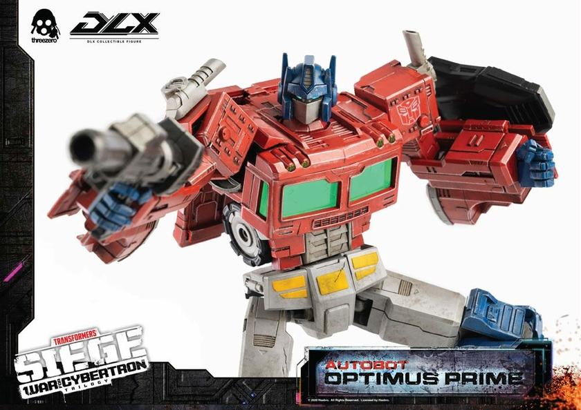 Figurine Transformers War For Cybertron Trilogy DLX Optimus Prime 25cm 1001 Figurines (9)