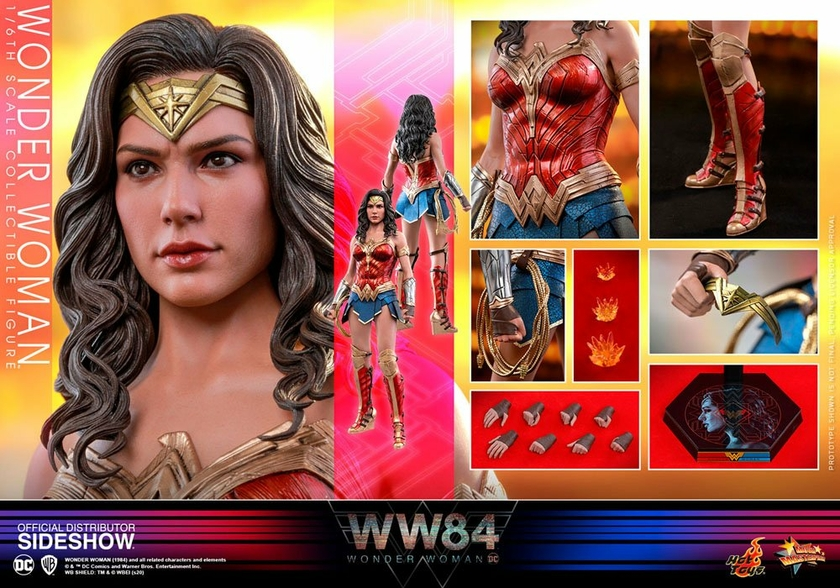 Figurine Wonder Woman 1984 Movie Masterpiece Wonder Woman 30cm 1001 Figurines (18)