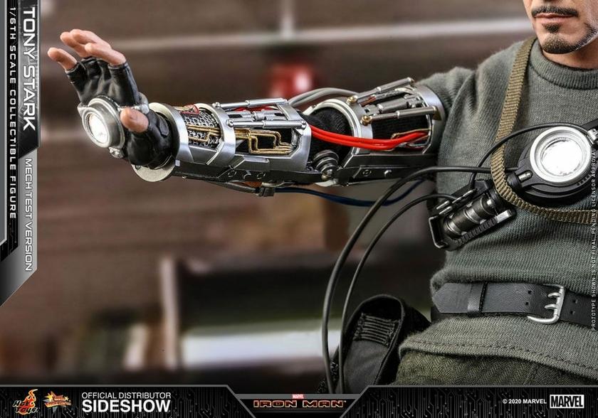 Figurine Iron Man Movie Masterpiece Tony Stark Mech Test Version 30cm 1001 Figurines (6)