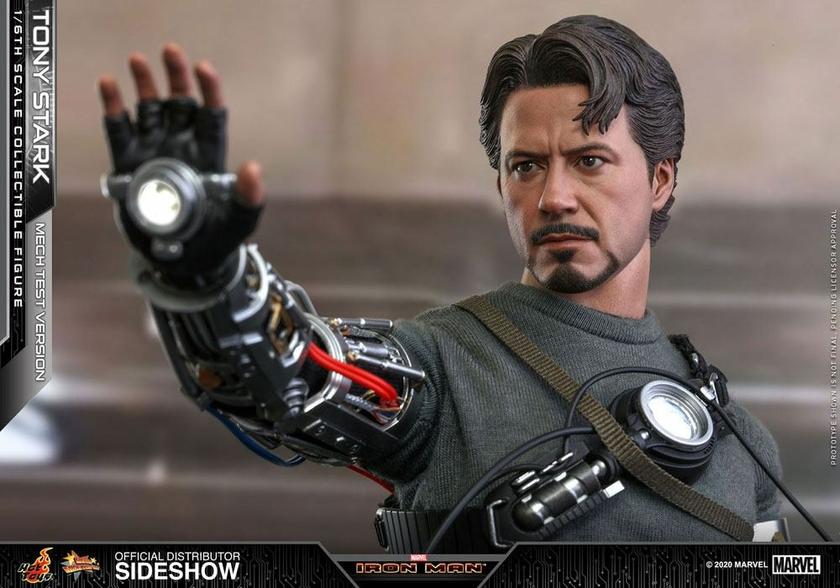 Figurine Iron Man Movie Masterpiece Tony Stark Mech Test Version 30cm 1001 Figurines (7)