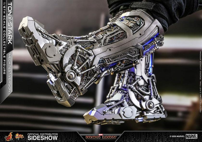 Figurine Iron Man Movie Masterpiece Tony Stark Mech Test Version 30cm 1001 Figurines (8)