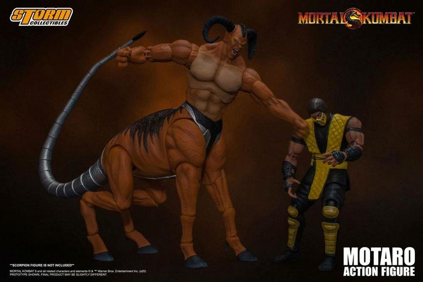Figurine Mortal Kombat Motaro 24cm 1001 Figurines (8)