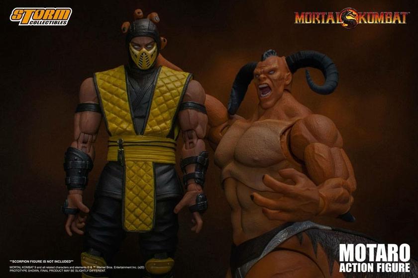 Figurine Mortal Kombat Motaro 24cm 1001 Figurines (9)
