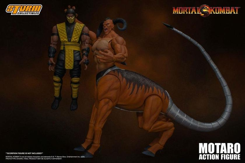 Figurine Mortal Kombat Motaro 24cm 1001 Figurines (10)