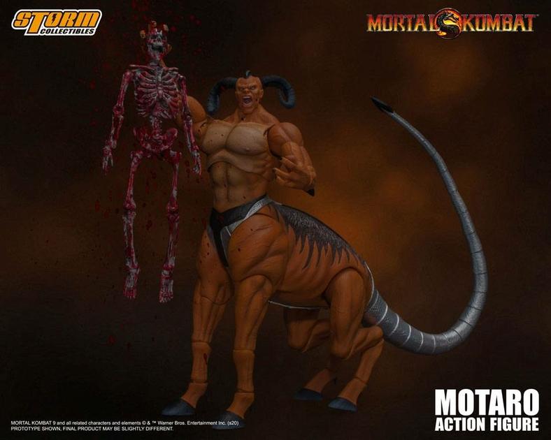 Figurine Mortal Kombat Motaro 24cm 1001 Figurines (11)