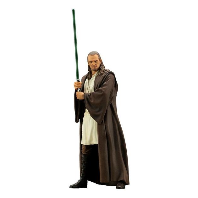 Statuette Star Wars Episode I ARTFX+ Qui-Gon Jinn 19cm 1001 Figurines (1)
