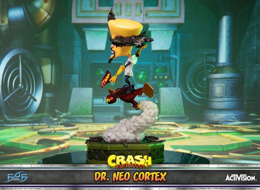 Statuette Crash Bandicoot 3 Dr. Neo Cortex 55cm 1001 Figurines (9)