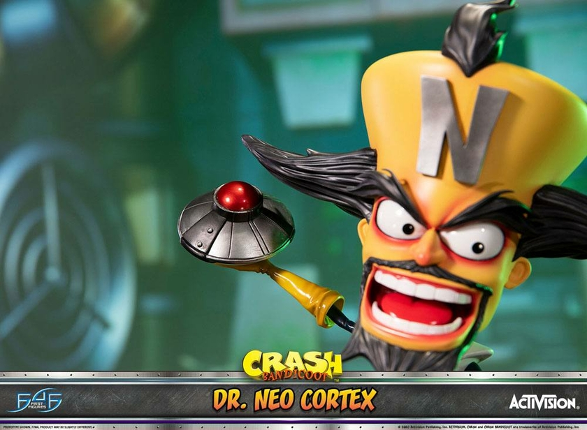 Statuette Crash Bandicoot 3 Dr. Neo Cortex 55cm 1001 Figurines (14)