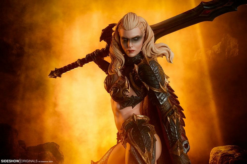 Statuette Sideshow Originals Dragon Slayer Warrior Forged in Flame 47cm 1001 Figurines (2)