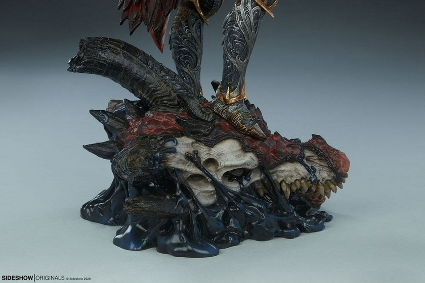 Statuette Sideshow Originals Dragon Slayer Warrior Forged in Flame 47cm 1001 Figurines (21)