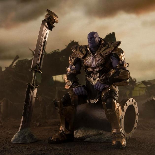 Figurine Avengers Endgame S.H. Figuarts Thanos Final Battle Edition 20cm 1001 Figurines (2)