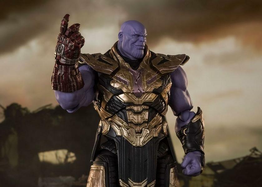 Figurine Avengers Endgame S.H. Figuarts Thanos Final Battle Edition 20cm 1001 Figurines (7)