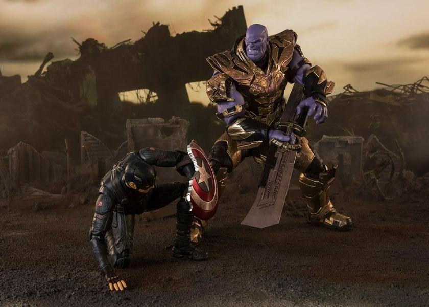 Figurine Avengers Endgame S.H. Figuarts Thanos Final Battle Edition 20cm 1001 Figurines (11)