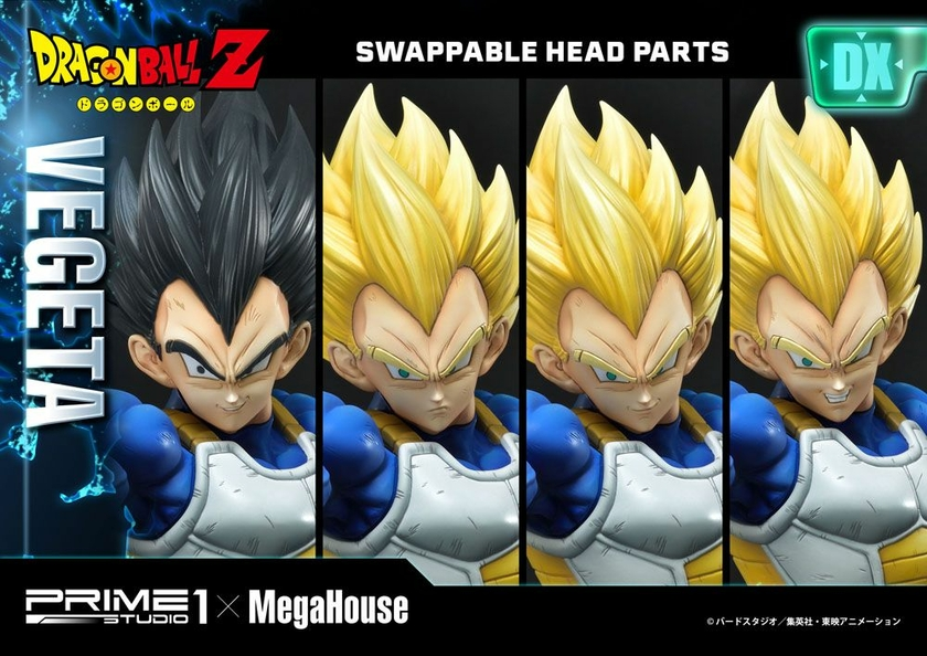 Statuette Dragon Ball Z Super Saiyan Vegeta Deluxe Version 64cm 1001 Figurines (14)
