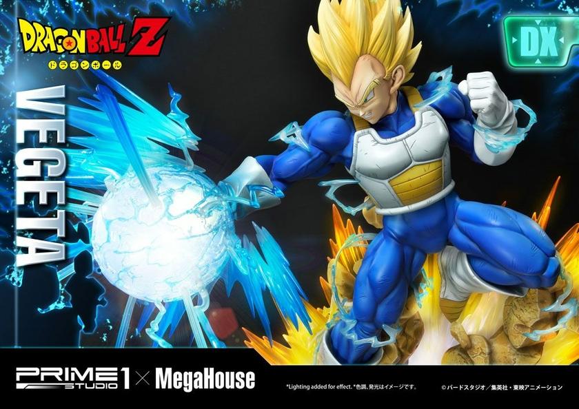 Statuette Dragon Ball Z Super Saiyan Vegeta Deluxe Version 64cm 1001 Figurines (18)