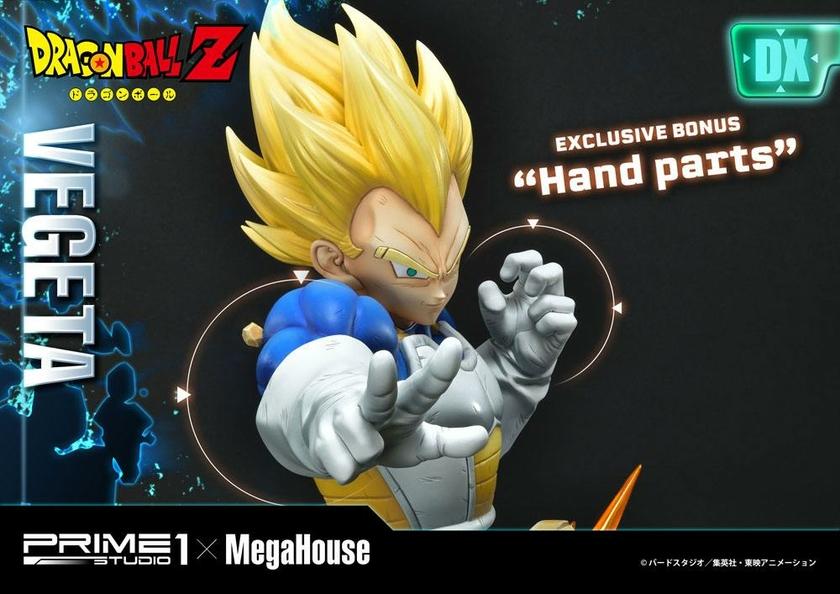 Statuette Dragon Ball Z Super Saiyan Vegeta Deluxe Version 64cm 1001 Figurines (22)