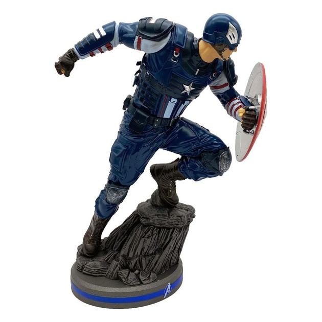 Statuette Avengers 2020 Video Game Captain America 22cm 1001 Figurines (2)