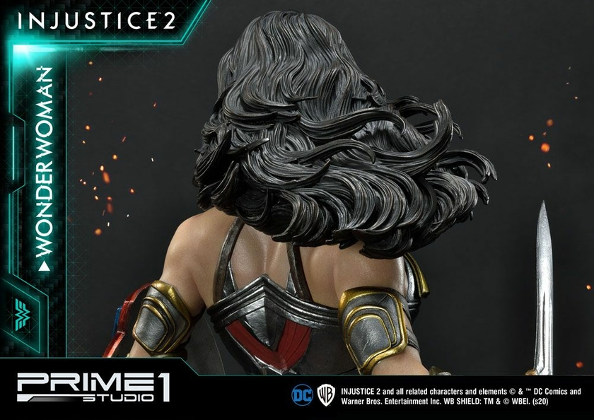 Statue Injustice 2 Wonder Woman 52cm 1001 Figurines (16)