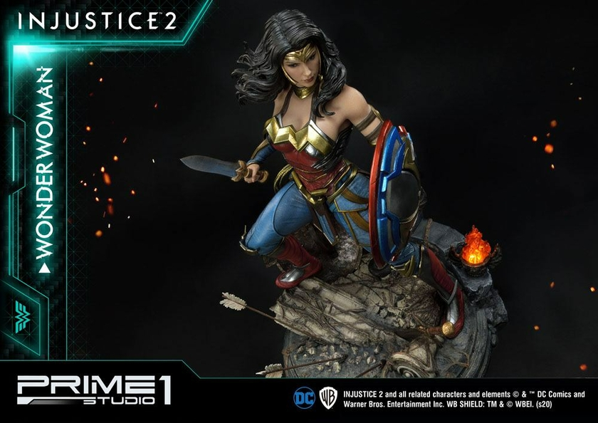Statue Injustice 2 Wonder Woman 52cm 1001 Figurines (22)