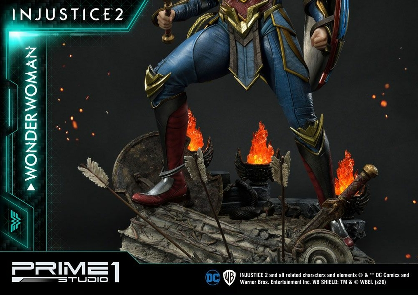 Statue Injustice 2 Wonder Woman 52cm 1001 Figurines (24)