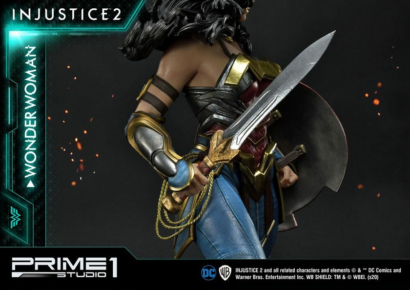 Statue Injustice 2 Wonder Woman 52cm 1001 Figurines (20)