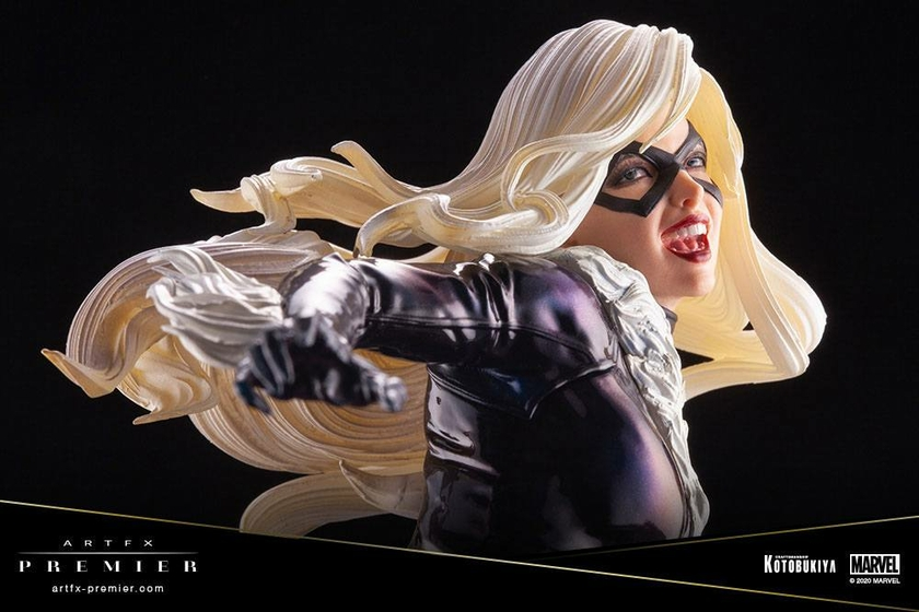 Statuette Marvel Universe ARTFX Premier Black Cat 16cm 1001 Figurines (13)