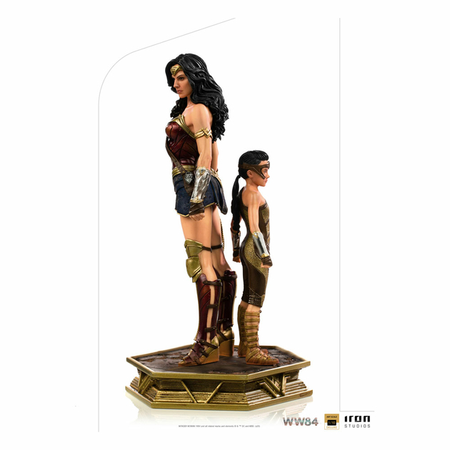 Statuette Wonder Woman 1984 Deluxe Art Scale Wonder Woman & Young Diana 20cm 1001 Figurines (1)
