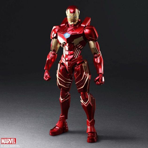 Figurine Marvel Universe Bring Arts Iron Man by Tetsuya Nomura 18cm 1001 Figurines (1)