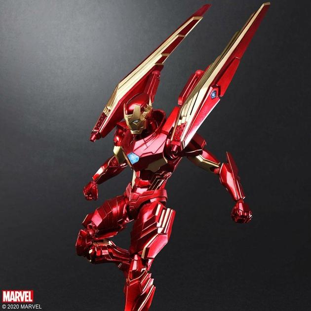 Figurine Marvel Universe Bring Arts Iron Man by Tetsuya Nomura 18cm 1001 Figurines (6)