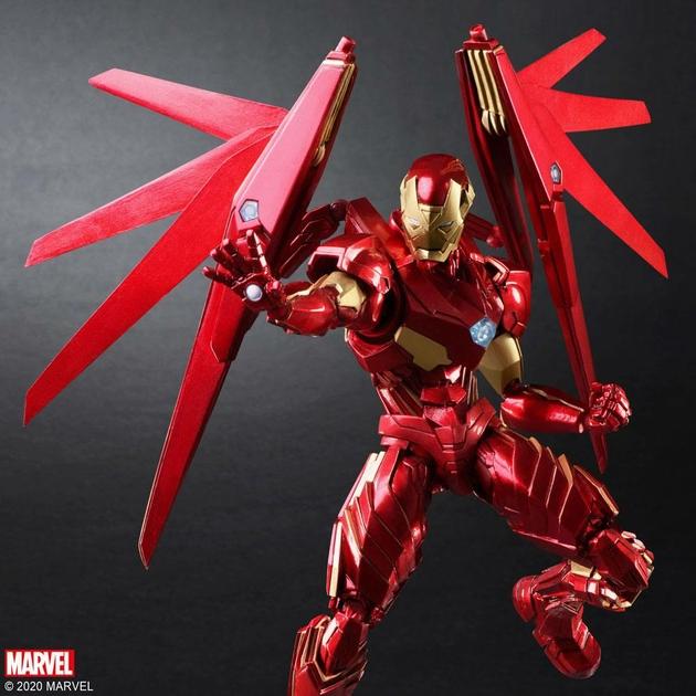 Figurine Marvel Universe Bring Arts Iron Man by Tetsuya Nomura 18cm 1001 Figurines (7)