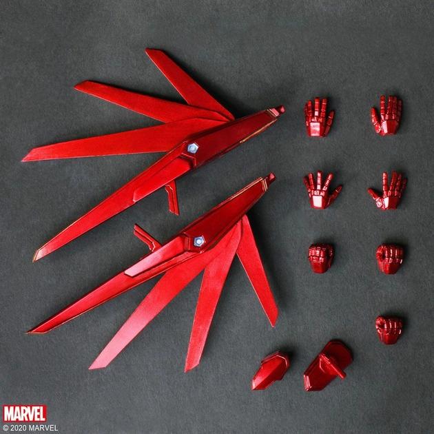 Figurine Marvel Universe Bring Arts Iron Man by Tetsuya Nomura 18cm 1001 Figurines (8)