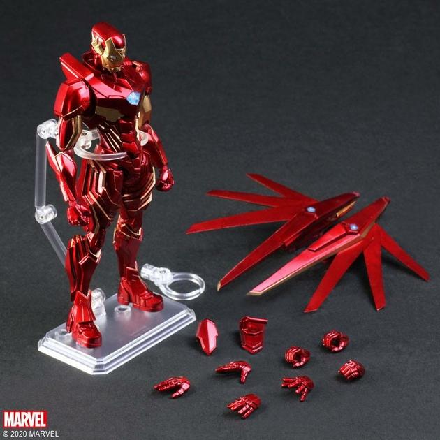 Figurine Marvel Universe Bring Arts Iron Man by Tetsuya Nomura 18cm 1001 Figurines (9)