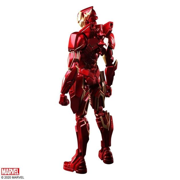 Figurine Marvel Universe Bring Arts Iron Man by Tetsuya Nomura 18cm 1001 Figurines (10)