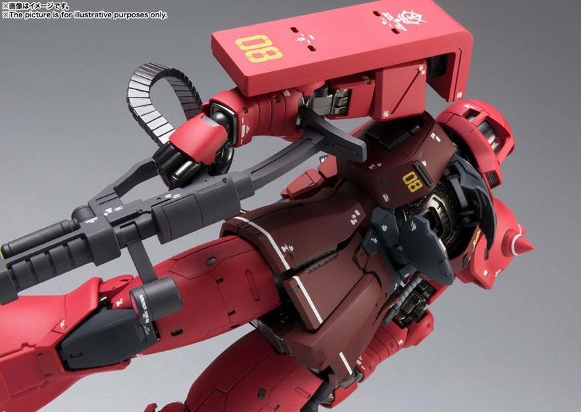 Figurine Mobile Suit Gundam The Origin GFFMC MS-05S Char Aznable´s Zaku I 18cm 1001 Figurines (7)
