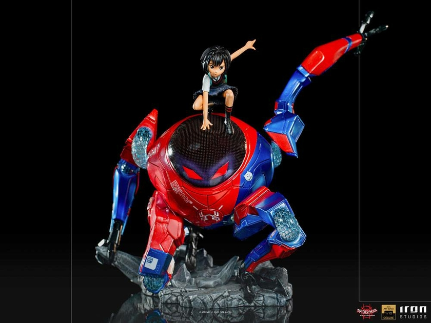 Statuette Spider-Man Far From Hom BDS Art Scale Deluxe Peni Parker & SP 25cm 1001 Figurines (2)