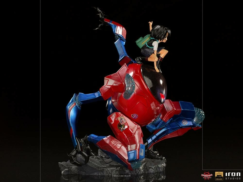 Statuette Spider-Man Far From Hom BDS Art Scale Deluxe Peni Parker & SP 25cm 1001 Figurines (5)