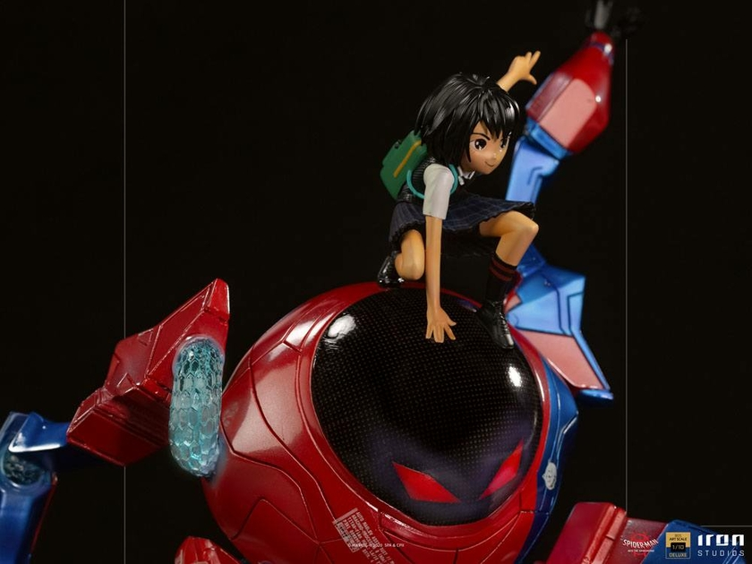 Statuette Spider-Man Far From Hom BDS Art Scale Deluxe Peni Parker & SP 25cm 1001 Figurines (6)