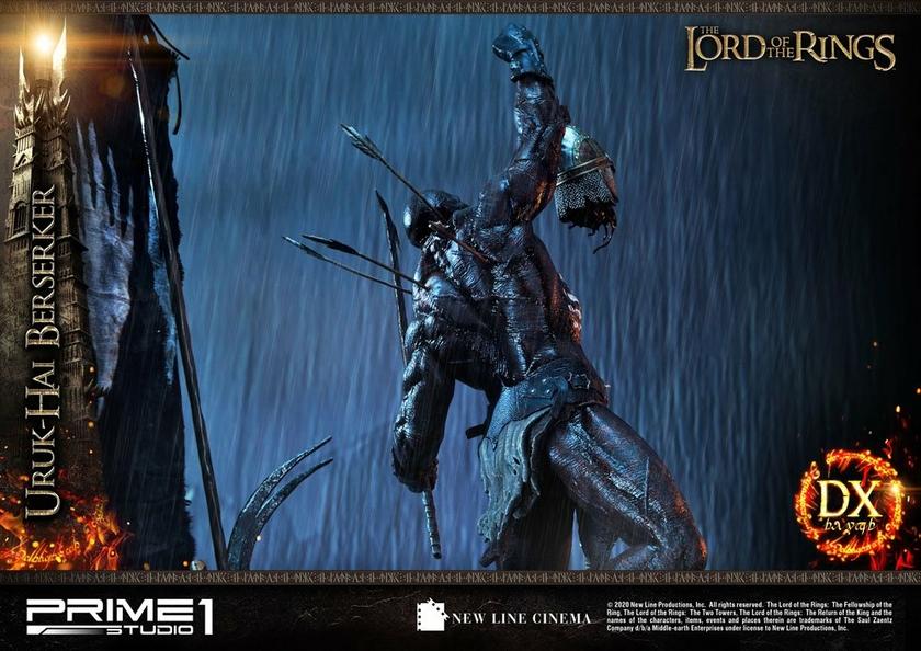 Statue Le Seigneur des Anneaux Uruk-Hai Berserker Deluxe Version 93cm 1001 Figurines (19)