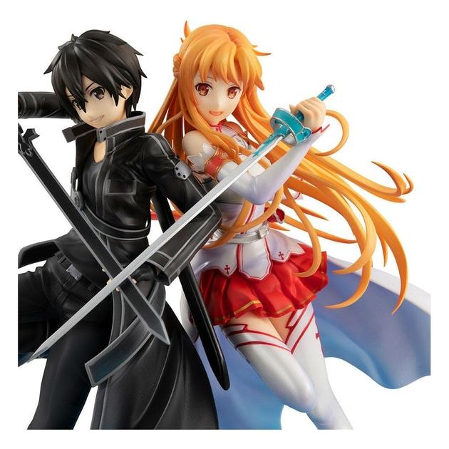 Statuette Sword Art Online Lucrea Kirito & Asuna 10th Anniversary 22cm 1001 fIGURINES (6)