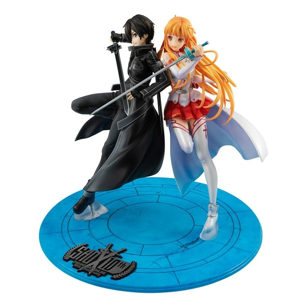 Statuette Sword Art Online Lucrea Kirito & Asuna 10th Anniversary 22cm 1001 fIGURINES (8)