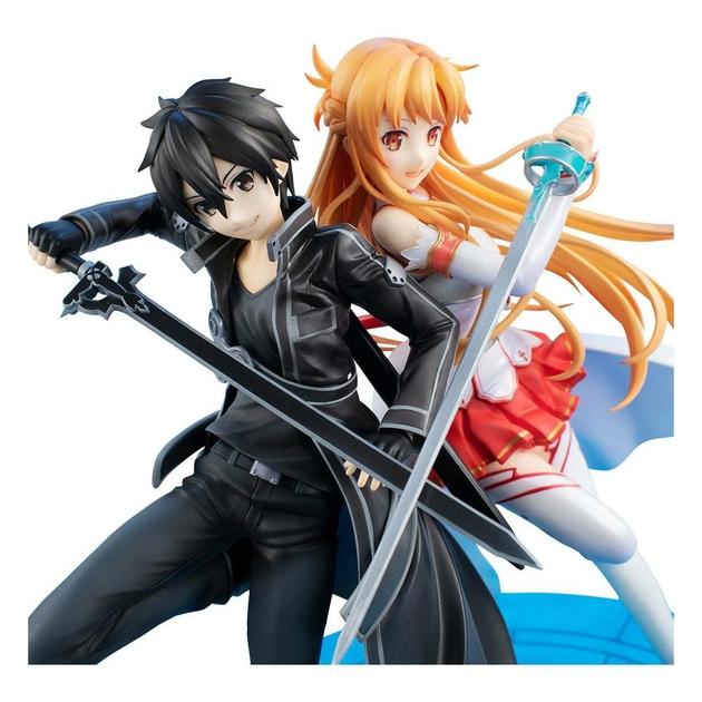 Statuette Sword Art Online Lucrea Kirito & Asuna 10th Anniversary 22cm 1001 fIGURINES (10)