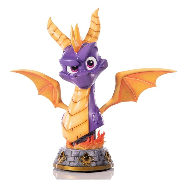 Buste Spyro Reignited Trilogy Grand Scale Spyro 38cm 1001 Figurines (1)