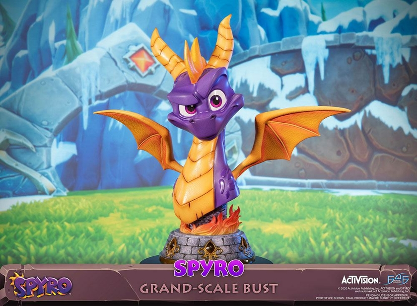Buste Spyro Reignited Trilogy Grand Scale Spyro 38cm 1001 Figurines (19)