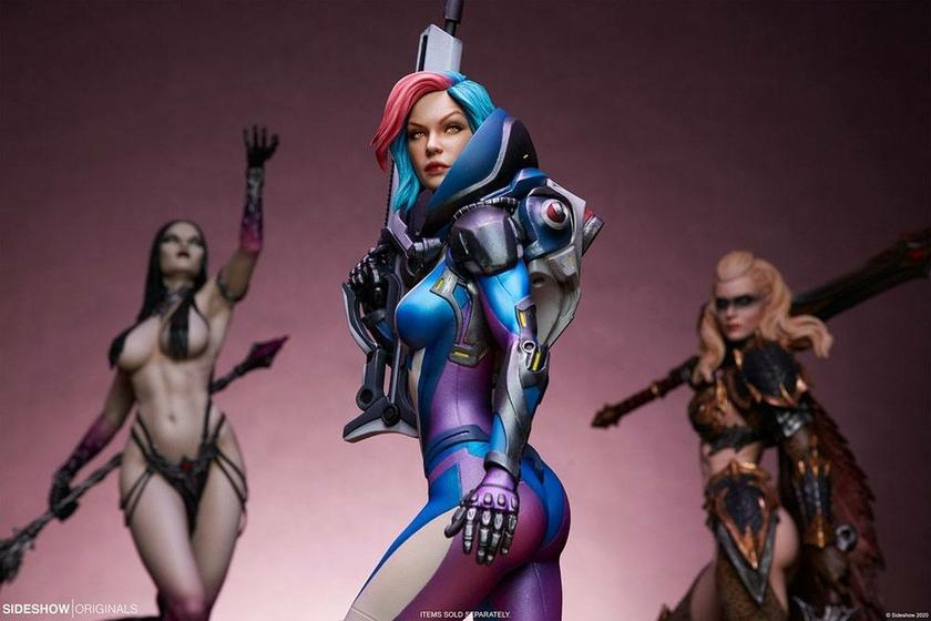 Statuette Sideshow Originals Bounty Hunter Galactic Gun For Hire 48cm 1001 Figurines (23)