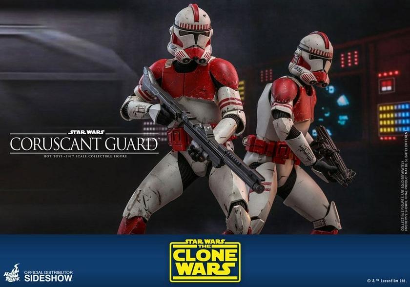 Figurine Star Wars The Clone Wars Coruscant Guard 30cm 1001 Figurines (11)